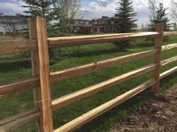 Cedar Split Rail Fencing In 4 Rail Style Ksl Com