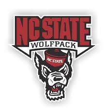 Nc State Wolfpack 12 Die Cut Vinyl Decal Sticker 101
