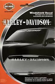 Harley Davidson Rear Window Decal Sticker Windshield New Us Polybull Com