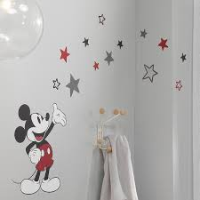 Shop Lambs Ivy Disney Baby Magical Mickey Mouse Wall Decals Gray Red Overstock 30823156