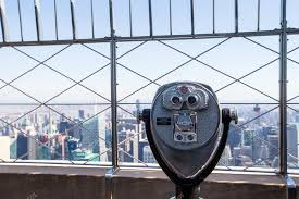 Beautiful View From The Rooftop Of Empire State Building New York Stock Photo C D Travnikov 56093845