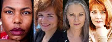 authors Dana Johnson & Melissa Yancy, readers ruby sketchley & lori russo,  10/26/18 - Stories on Stage
