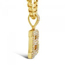 10k yellow gold 87ct diamond b
