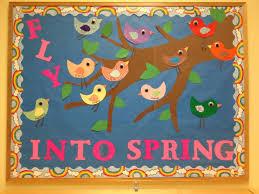 spring bulletin boards pre