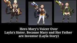 new hero mary s voice over suara hero mary