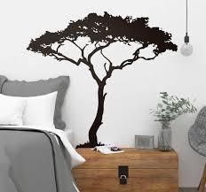 Africa Tree Tree Wall Sticker Tenstickers