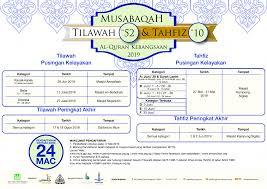 national quranic reading memorization tilawah tahfiz