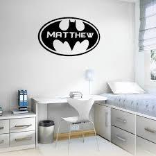 Custom Batman Wall Stickers Batman Wall Mural Batman Stickers