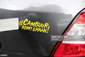 A Sticker Reading Cambuurkomteraan Applied To A Car Is Seen At A News Photo Getty Images