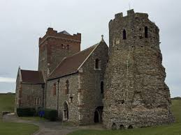 The Roman lighthouse at the medieval castle of Dover is the oldest ...