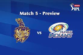 Dream11 IPL 2020, Match 5: KKR vs MI ...