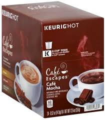 cup pods coffee beverage mix