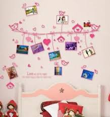 Pink Love Photo Wall Sticker Ladies Bedroom Decoration Removable Wall Decal Ebay