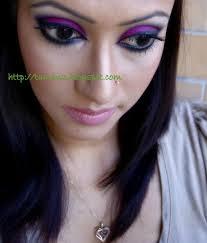 tutorial magenta drama eye look with