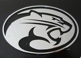 New Uh Cougars Logo Chrome Metal Auto Emblem University Of Houston Car Decal Ebay