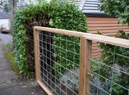 Natural Swimming Pool Pond Fencing Idea Inexpensive Modern Fencing Option That Won T Obstruct Views Cattle Panel Fence Fence Design Cattle Panels