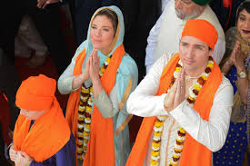photo shows justin trudeau in brownface