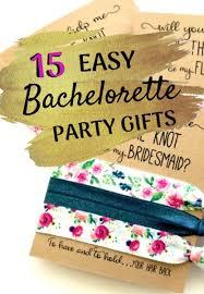 15 easy bachelorette party gift ideas