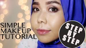 cara simple makeup harian saubhaya makeup
