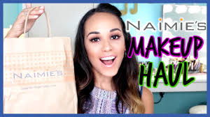 naimies makeup haul blush diaries