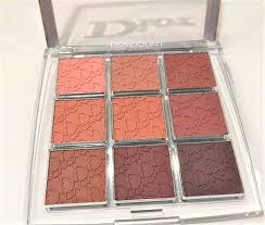 dior backse collection lip palette