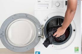 Trên tay máy giặt Beko Inverter 7kg WTE 7512 XS0 | Máy giặt, Giấm, Quần áo