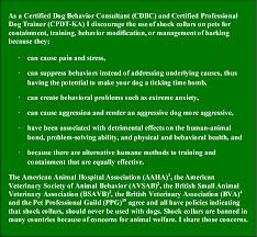 Dogs The Unintended Consequences Of Shock Collar Green Acres Kennel Shop Blog