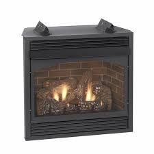 gas log fireplace insert with blower
