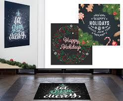 Reusable Temporary Retail Decals Window Floor Holiday Signage