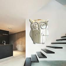 Owl Vinyl Decal Sticker Indoor Mirror Kitchen Wardrobe Office 29x18cm Quality Sfhs Org
