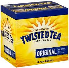 twisted tea original hard iced tea 12