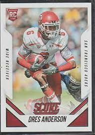 2015 Score Dres Anderson 49ers Rookie Football Card #422 at ...
