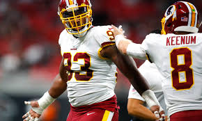 Jonathan Allen should see individual work Wednesday