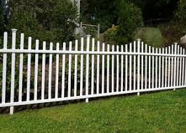 2 Pack No Dig White Fence Panels Garden Lawn Fencing Vinyl Panel Yard Barrier 7445008944971 Ebay