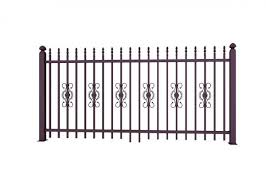 Metal Ornaments Prefabricated Metal Fence Panels For Garden Decoration Of Cast Iron Fence
