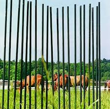 Fence Stakes Strong Rust Proof Fibre Glass Fence Stakes