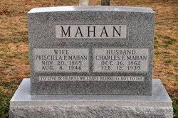 Priscilla Price Colley Mahan (1865-1946) - Find A Grave Memorial