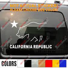 Flag Of California Cali Republic Bear Star Car Decal Sticker Choose Color Car Decal Sticker Decal Stickercar Decal Aliexpress