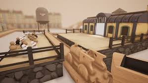 wooden train set simulator tracks es