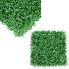 E Joy 2 Ft H X 2 Ft W Art Artificial Hedge Plant Polyethylene Fence Panel Wayfair