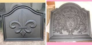 cast iron fireplace accessories