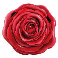 intex inflatable raft rose red