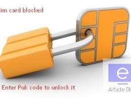 steps to get reliance jio puk code pin