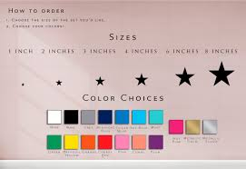 Diy Stars Wall Decals Vinyl Decal Home Decor Gold Wall Stickers The Personalized Gift Co
