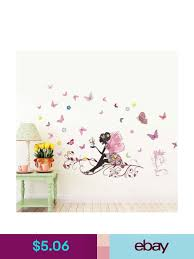 Decorative Decals Ebay Home Garden Wall Stickers Home Decor Girls Room Decor Girl Floral Bedroom