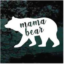 Mama Bear Car Window Decals Stickers Decal Junky