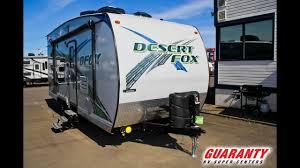 21 sw toy hauler travel trailer video