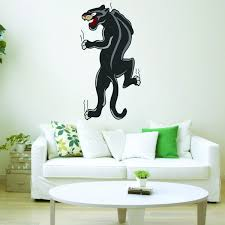 Vwaq Panther In Black Wall Decal Pantera Decal American Traditional