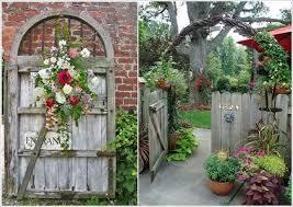 rustic garden gate ideas photograph