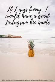 instagram bio quotes and caption ideas to inspire